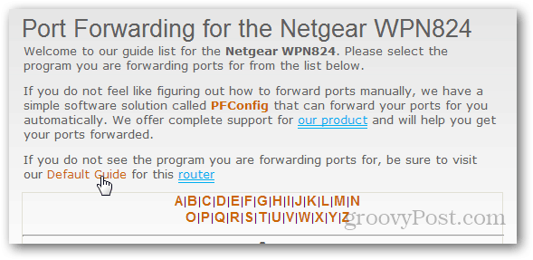 if in doubt, use the default guide for the router on portforward.com