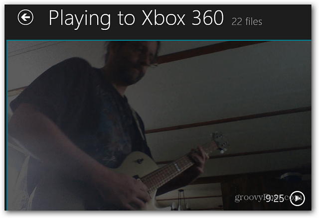playing to Xbox 360