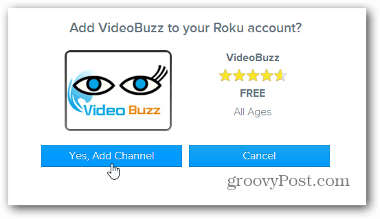 Add Video Buzz