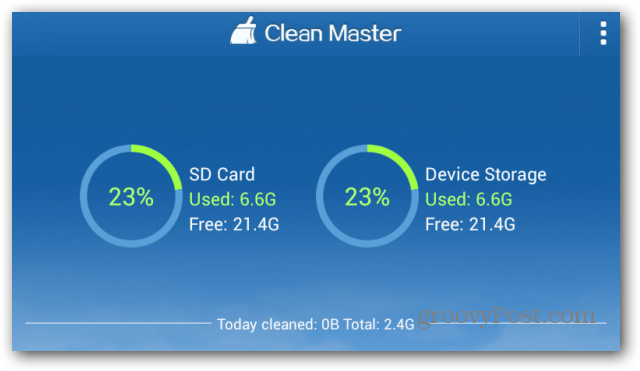 Clean Master for Android is a Free App to Clean Up Your Device