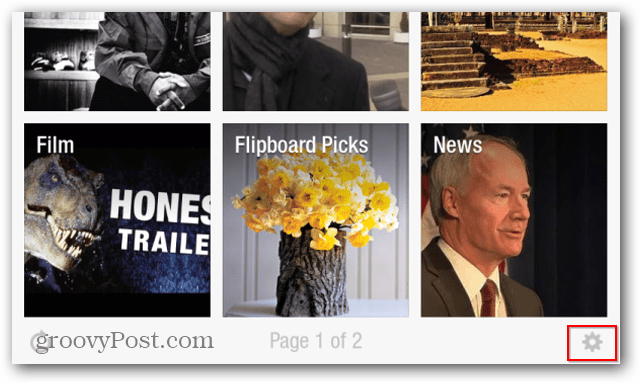 Flipboard reduce mobile data use settings
