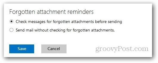 Forgotten Attachment Reminders