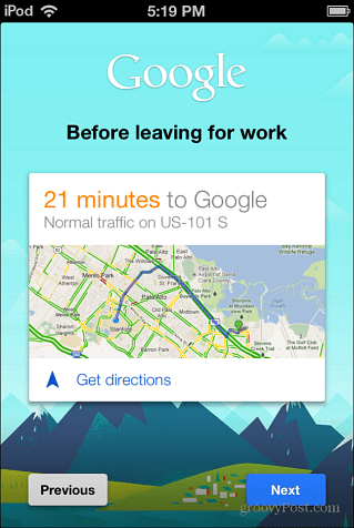 Getting Started with Google Now iOS