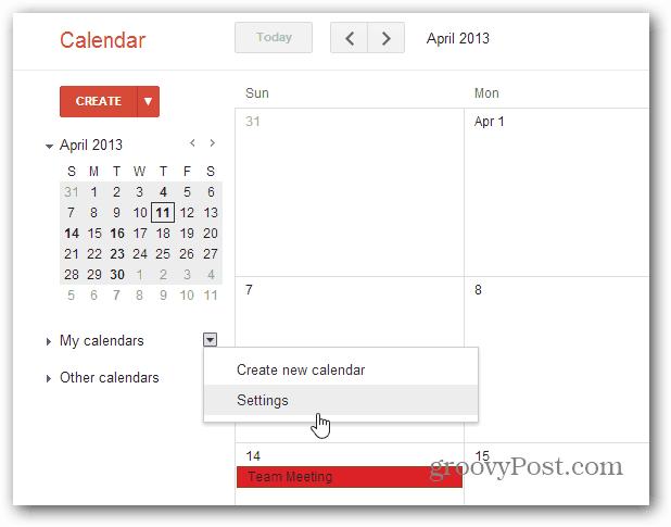 How To Add Google Calendar Events in Windows 8 Calendar App