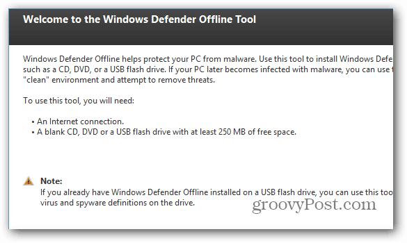 Offline Tool