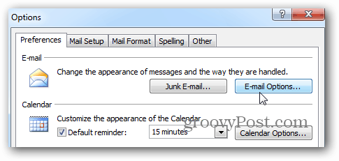 how to close outlook mail
