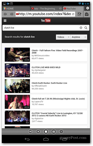 Search YouTube Twonky