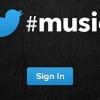 Twitter Music Logo
