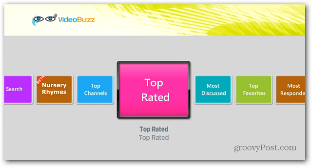 Video Buzz Categories