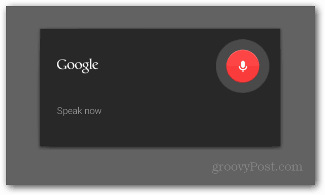 Voice notes Google Keep