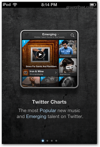 iOS Twitter Music