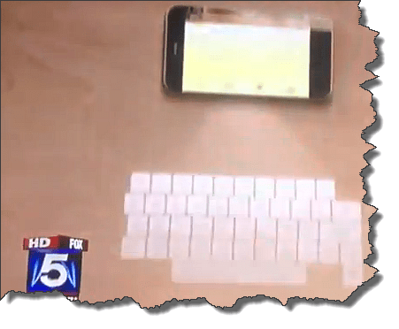 iPhone Laser Keyboard