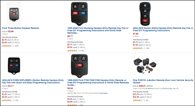 clickers on amazon