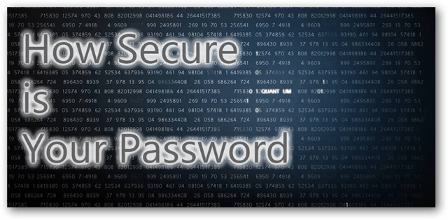 Password Strength Checkers