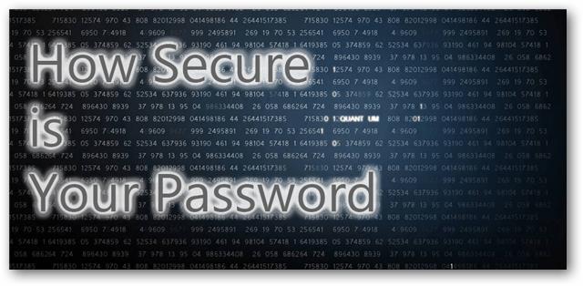 Password Strength Checkers