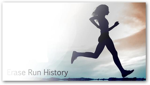 Erase Run Dialog History in Windows