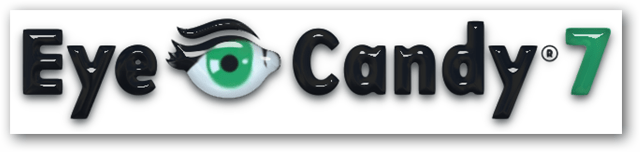 Eye Candy 7 Logo filtered with glass