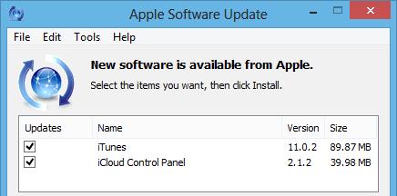update iTunes