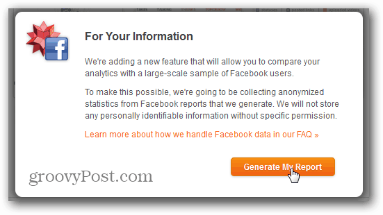 wolfram alpha facebook report generate