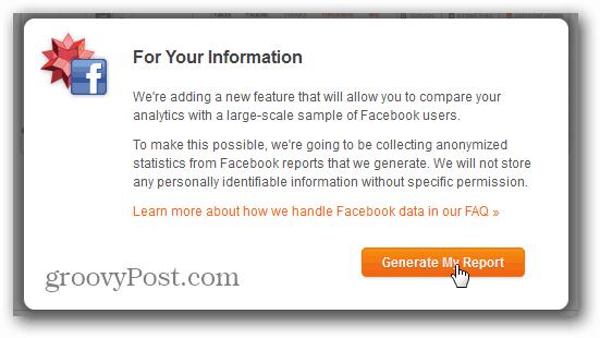 wolfram alpha facebook report generate
