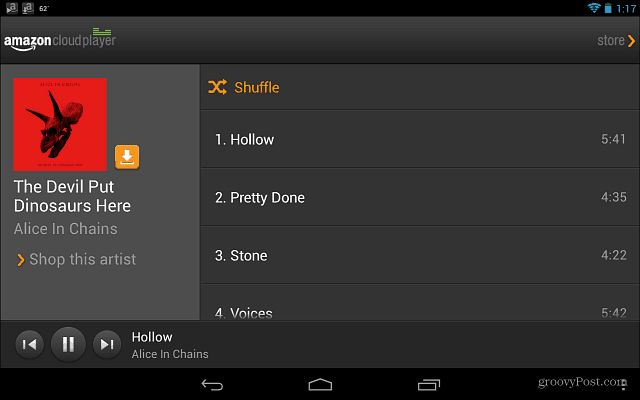 Amazon Cloud Player Android