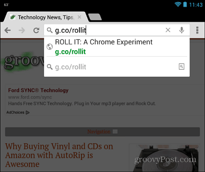 Chrome Mobile Browser