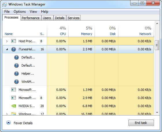 DBCTaskManager Windows 7