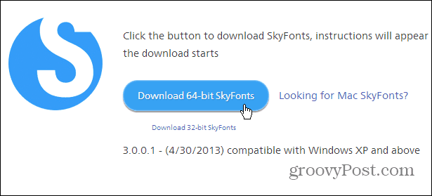 SkyFonts