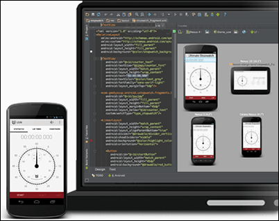 Android Studio screenshot