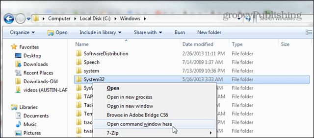 shift click to open folders