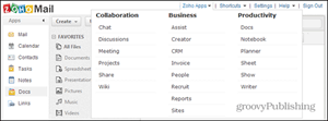 zoho business apps features