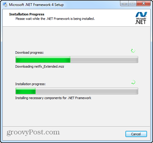 install .net