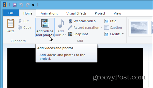 how to save windows live movie maker project as mp4