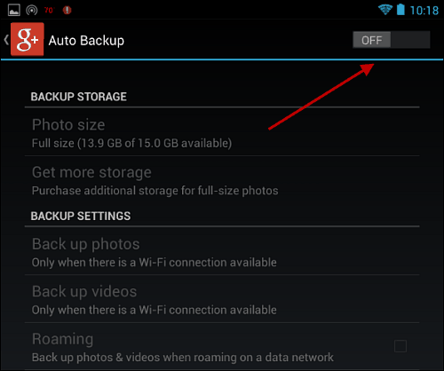 how to delete auto backup photos from your phone