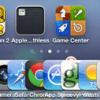 Extra icons iOS Dock