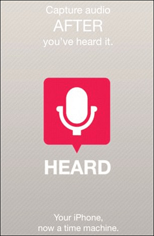 Heard App iPhone