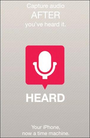 Heard App iPhone