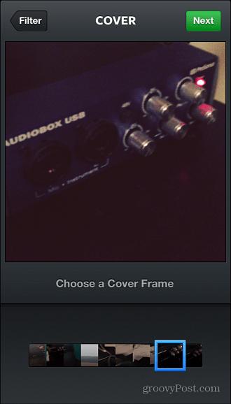 Instagram Cover Frame iOS