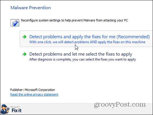 Malware Prevention