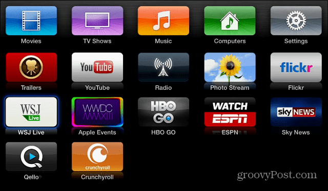 New Channel Apps Apple TV
