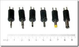 dc power connectors - round