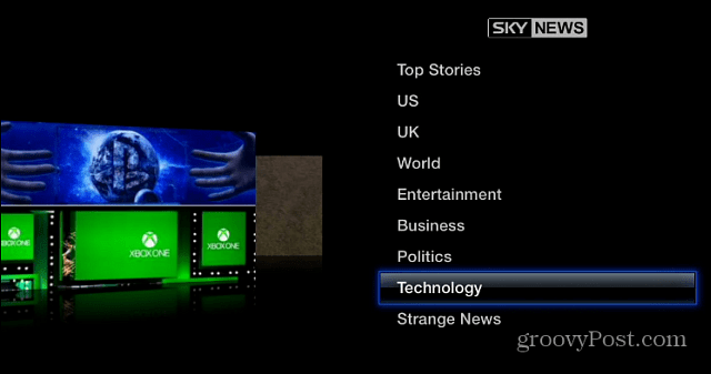 Sky News Apple TV