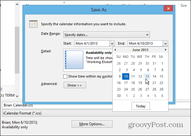 how to add outlook dl calendar