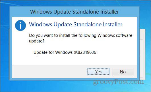 StandAlone Installer