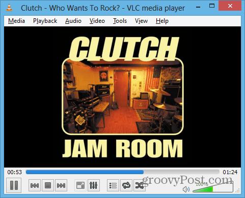 VLC Playing