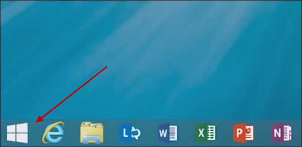 Windows 8.1 Start Button