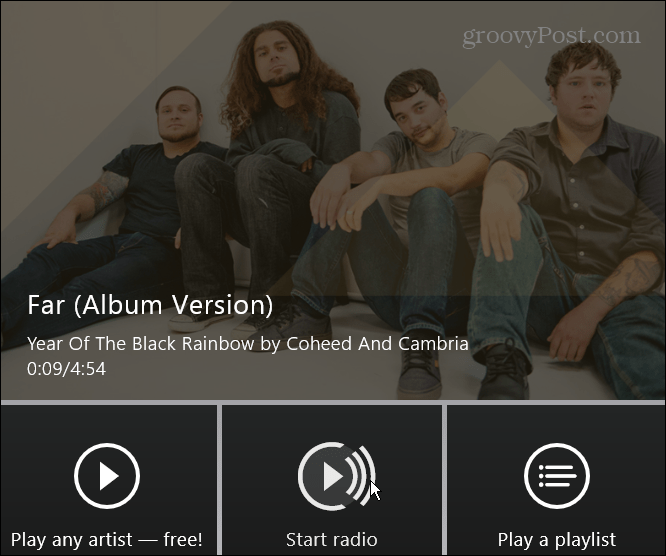 Xbox Music Radio