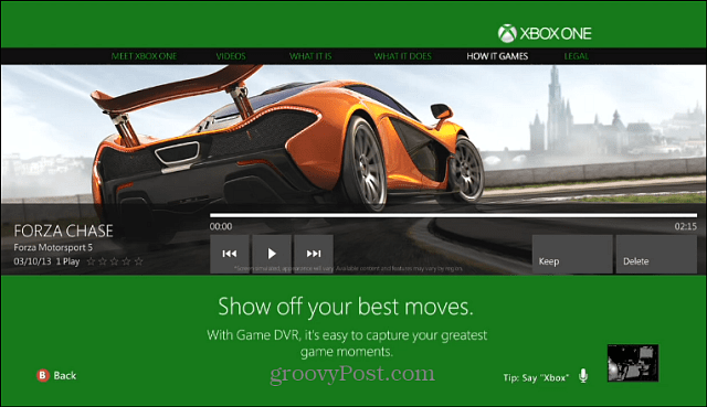 Xbox One How it Games