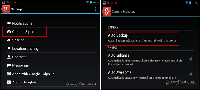 g  App Settings Auto Backup