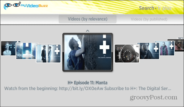 myVideoBuzz Video Channels
